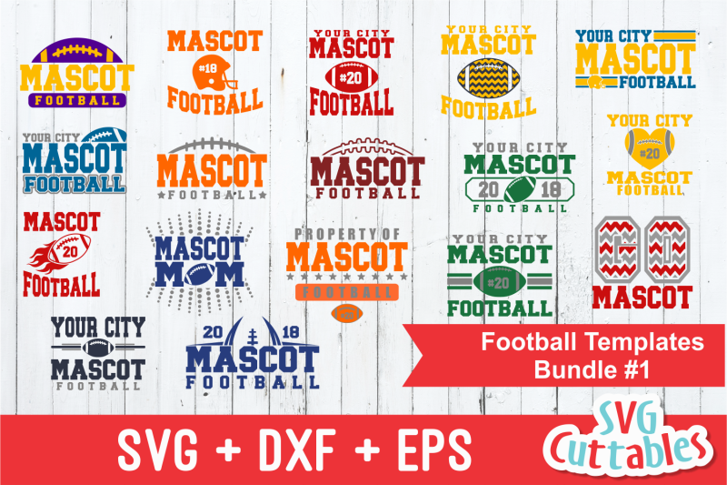 football-svg-template-bundle-1