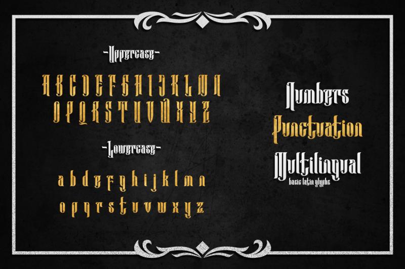 anehena-typeface