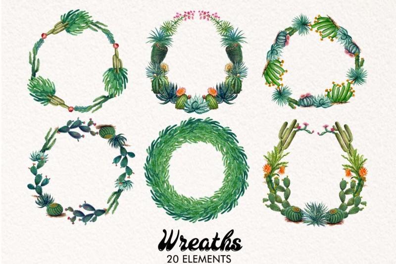 watercolor-cactus