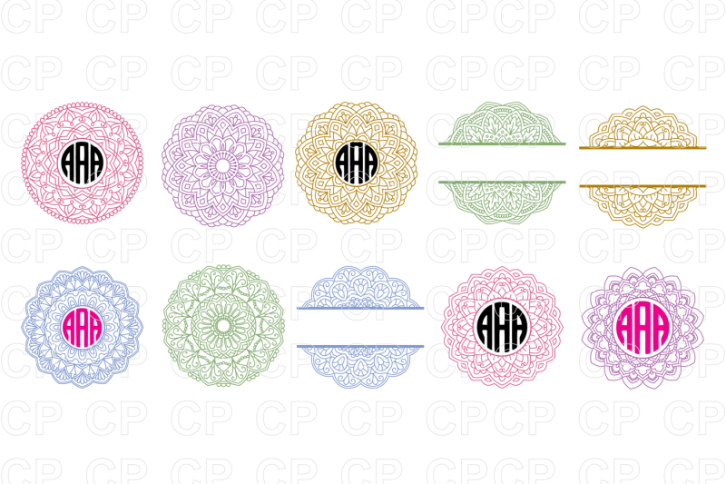 mandala-circle-monogram-bundle-svg-cut-files-mandala-clipart