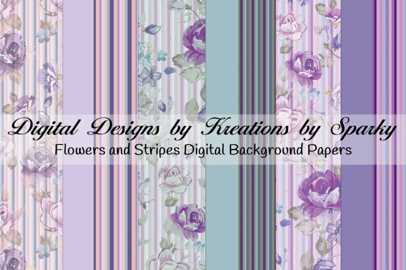 flowers-and-stripes-digital-background-papers
