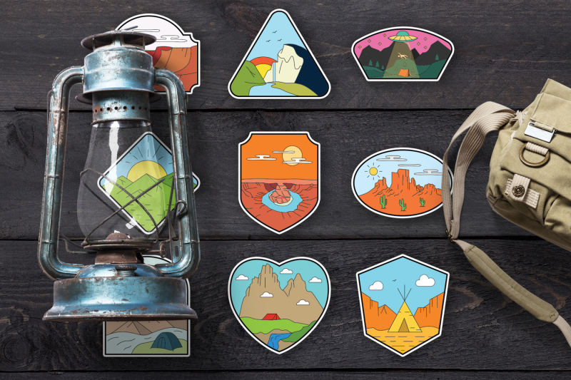 american-adventure-badges-logo-kit