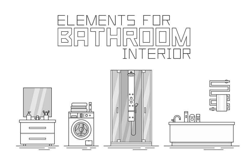 elements-for-bathroom-interior