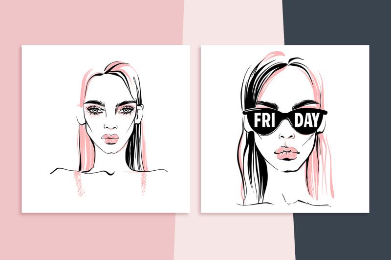 fashion-illustration-beautiful-girls