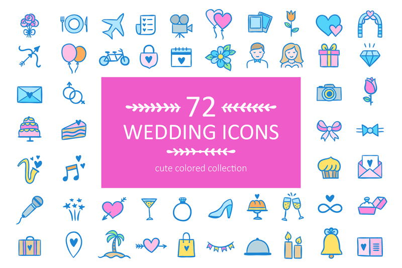 72-wedding-icons