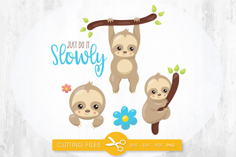 just-do-it-slowly-svg-png-eps-dxf-cut-file