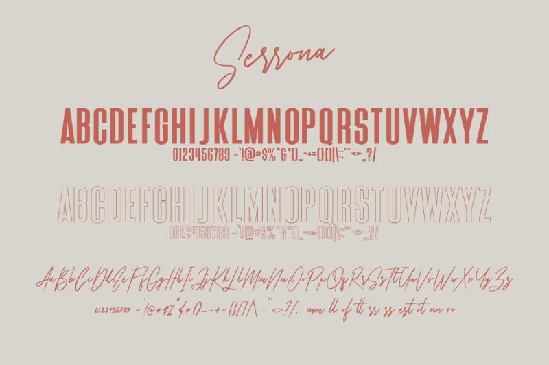 serrona-script-font-duo