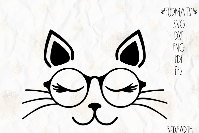 cat-with-lashes-and-glasses-svg-png-eps-dxf-pdf-for-cricut-cameo