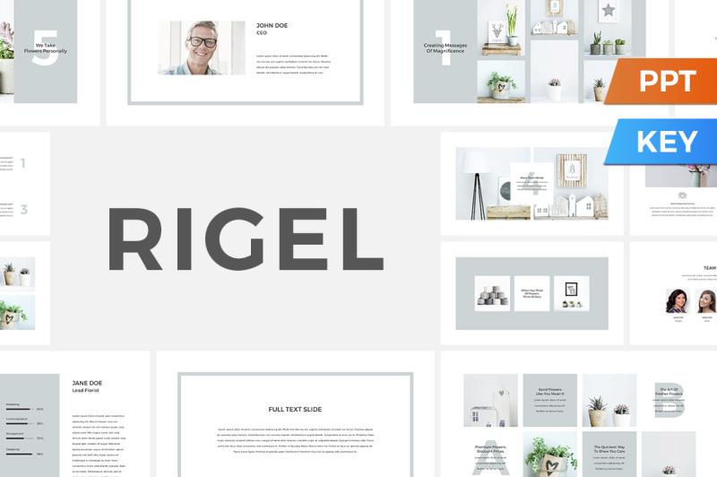 rigel-presentation-template