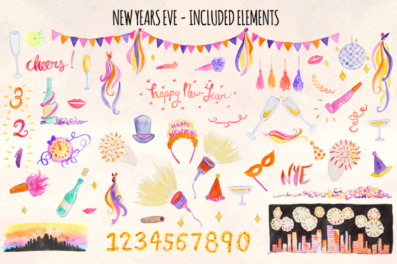 68-new-year-s-eve-watercolor-vector-graphics-kit