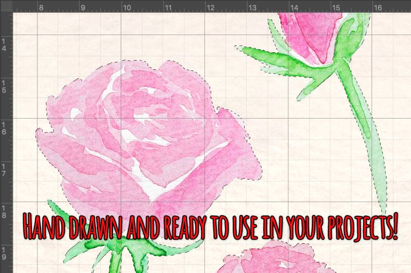31-pink-roses-watercolor-graphics-vector-kit
