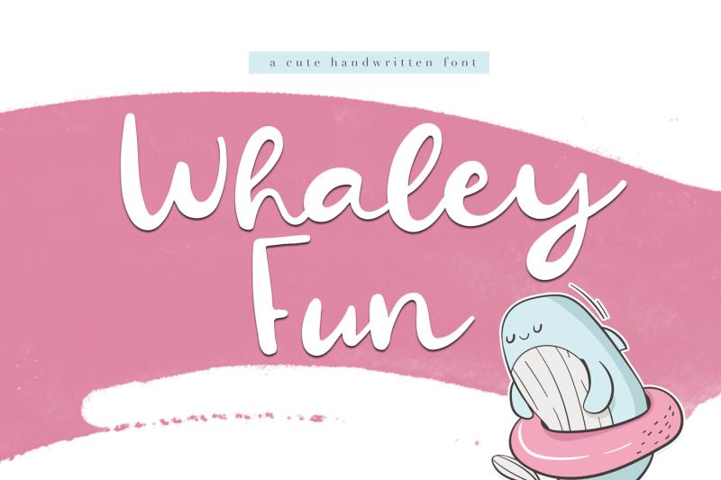 whaley-fun-a-fun-script-font