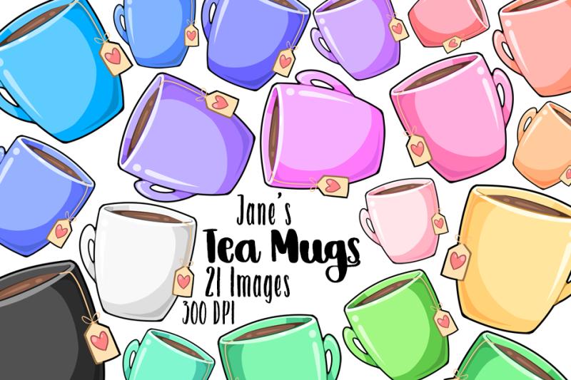 kawaii-tea-mugs-clipart