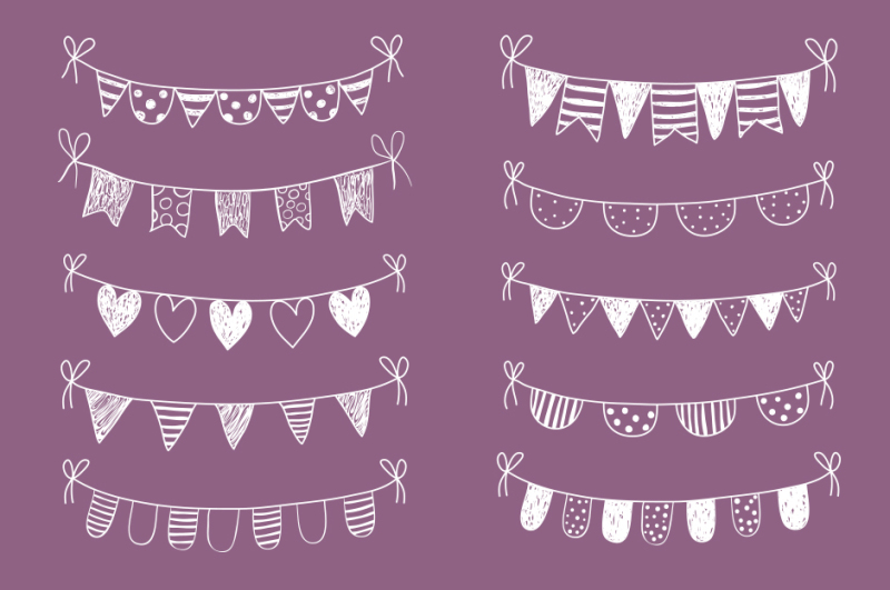 chalkboard-bunting-clipart-white-doodle-flags-clip-art-doodle-banner