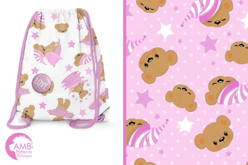 pink-bear-surface-patterns-bear-papers-amb-986