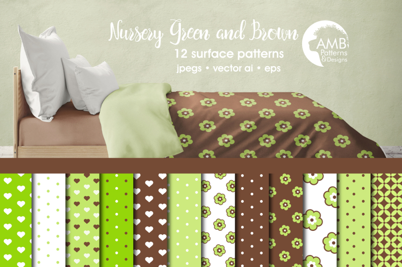 green-and-brown-surface-patterns-green-and-brown-papers-amb-838