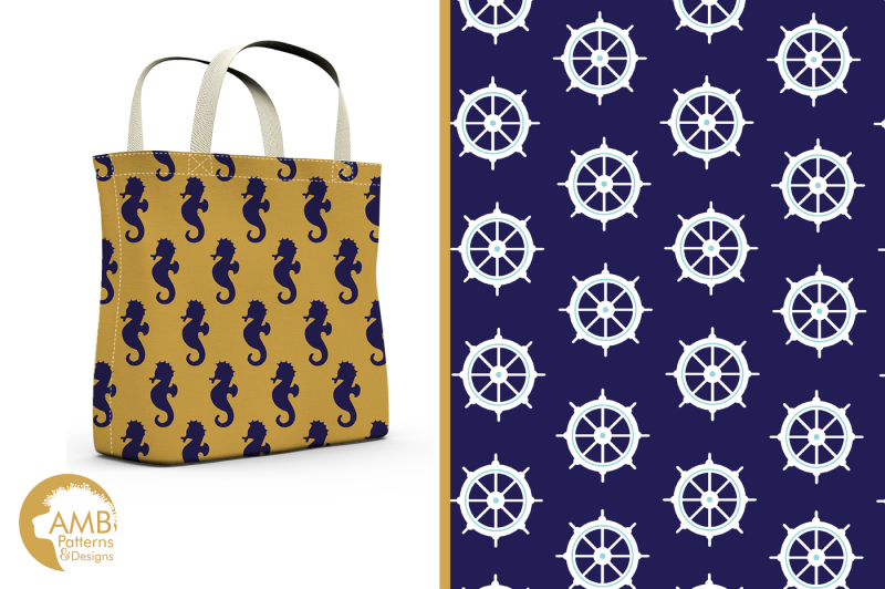 gold-and-navy-nautical-surface-patterns-gold-and-navy-papers-amb-563