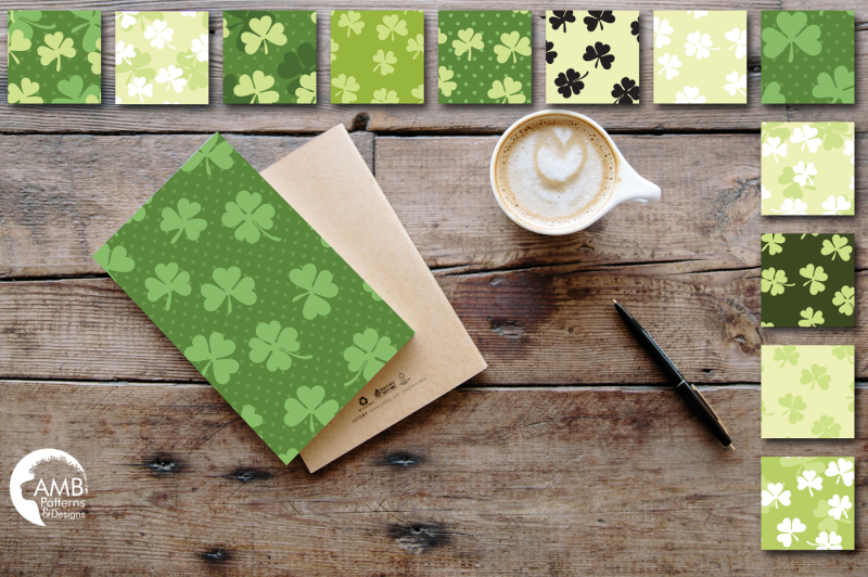 luck-of-the-irish-surface-patterns-shamrock-papers-amb-443