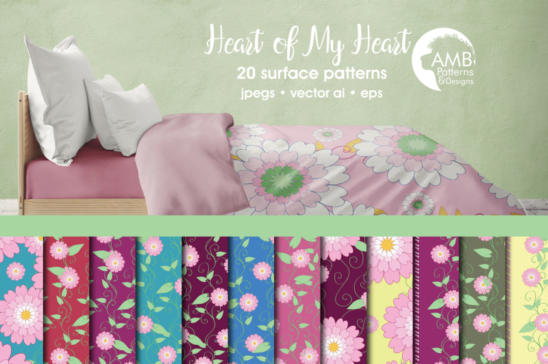 heart-surface-patterns-heart-papers-amb-332