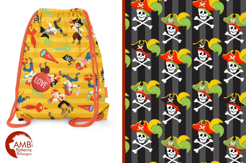 pirate-surface-patterns-pirate-papers-amb-179