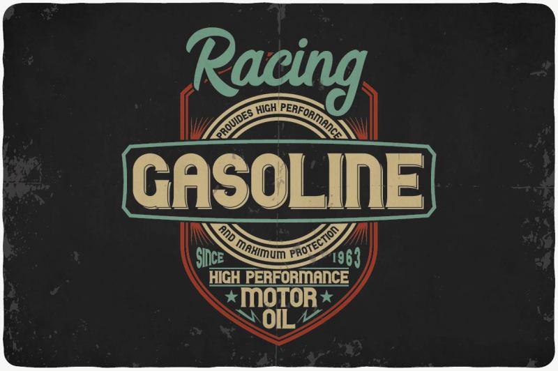 biker-typeface