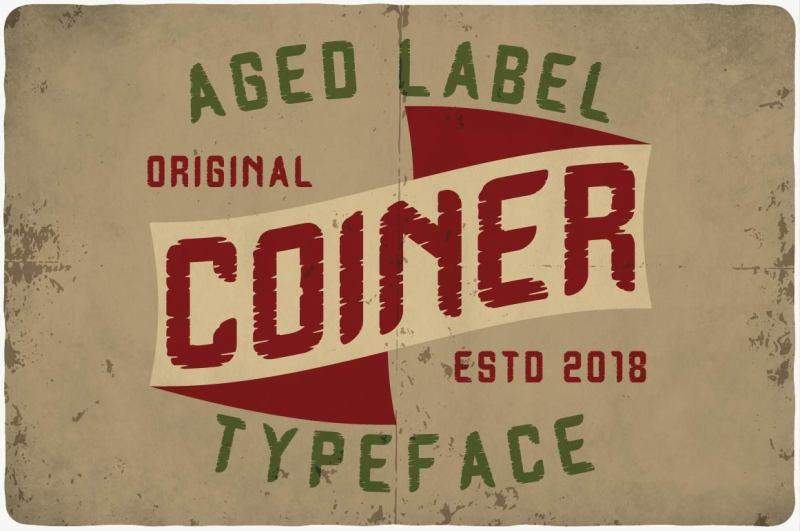 coiner-typeface