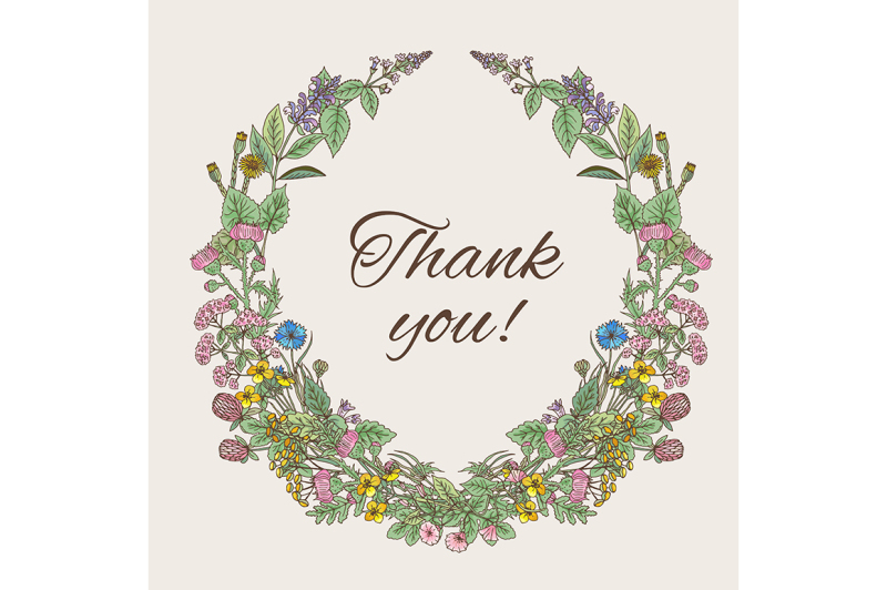 thank-you-card-inscription-inside-the-wreath-of-hand-drawn-herbs-and