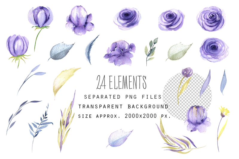 indiana-blue-roses-elements-patterns