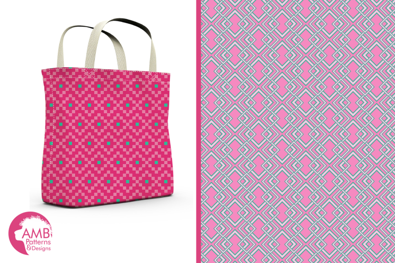 pink-and-teal-geometric-surface-patterns-geometric-papers-amb-1082