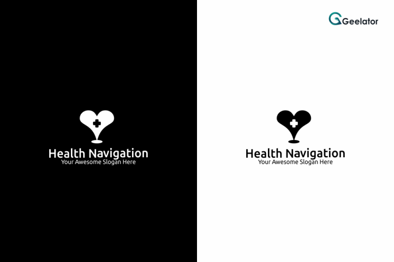 health-navigation-logo-template