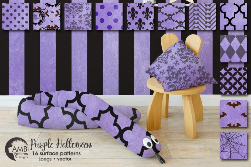 purple-halloween-surface-patterns-halloween-paper-amb-1097