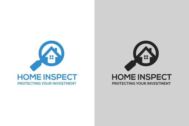 home-inspect-logo-template