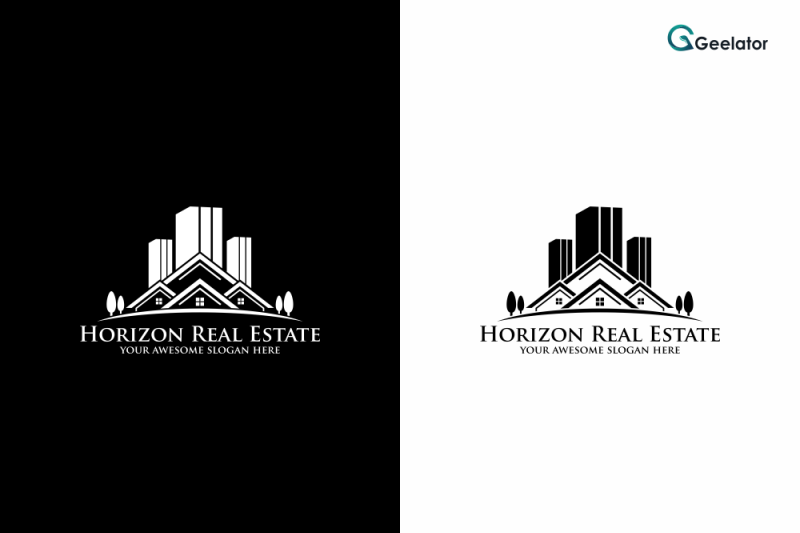 horizon-real-estate-logo-template