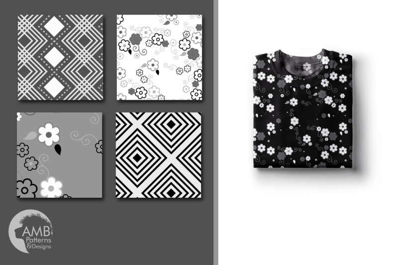 black-and-white-geometric-surface-patterns-geometric-papers-amb-1264