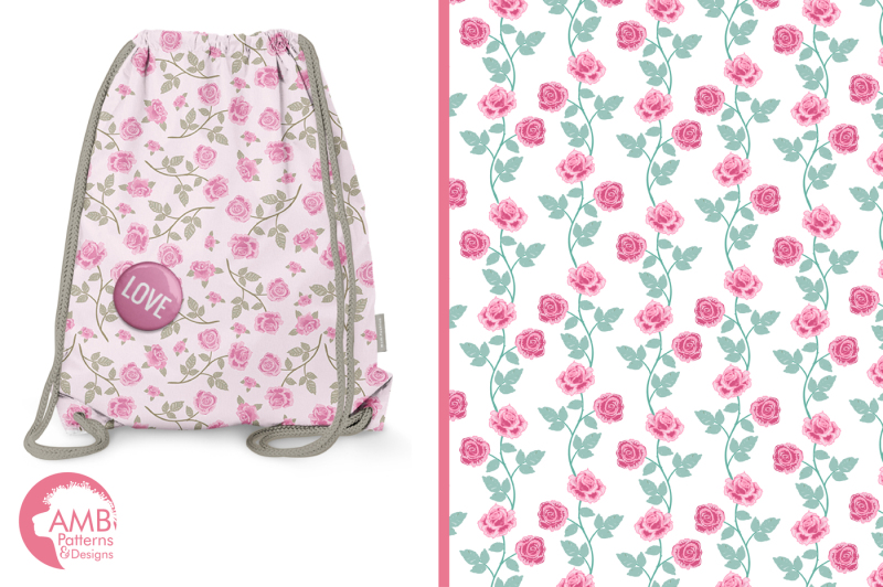 pink-roses-surface-patterns-pink-roses-papers-amb-1271