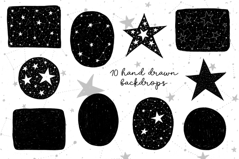 be-a-dreamer-clipart-collection