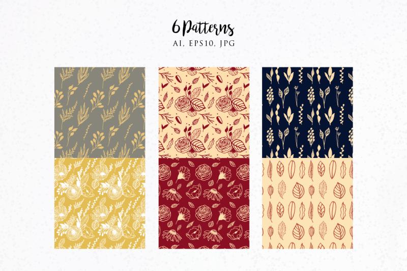 hand-drawn-floral-elements-vol-2