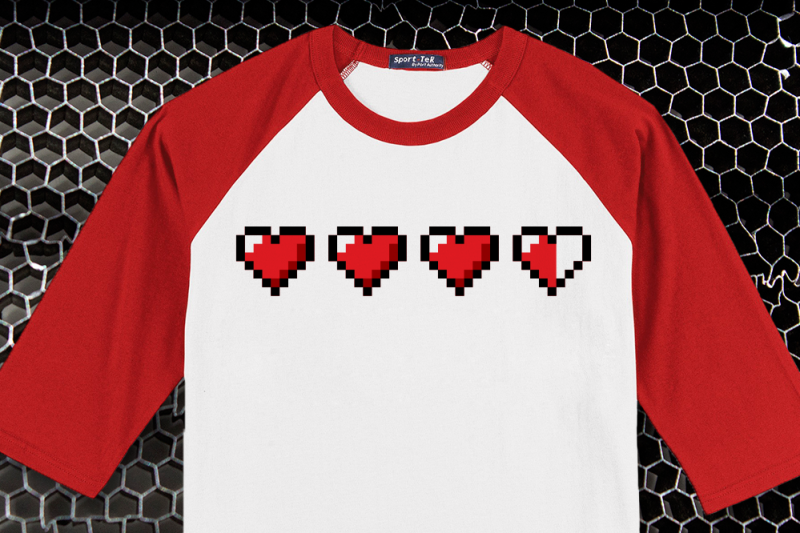 pixel-hearts-svg-png-dxf
