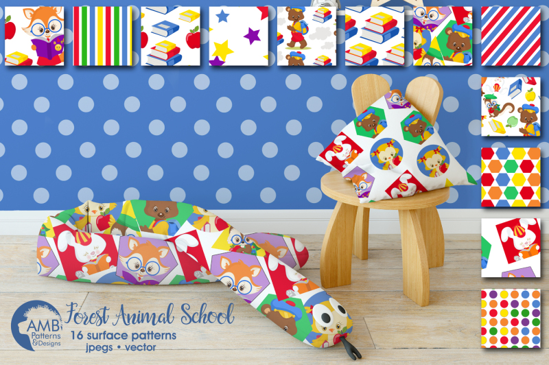 forest-animal-school-surface-patterns-forest-animal-papers-amb-1408