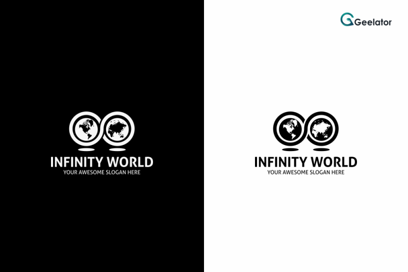 infinity-world-logo-template