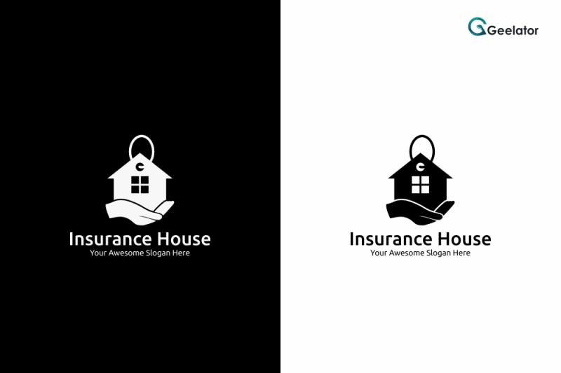 insurance-house-logo-template