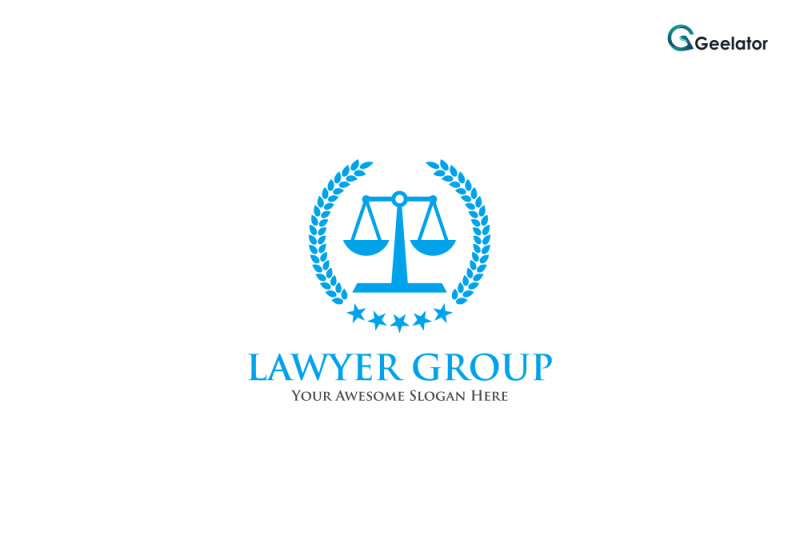 lawyer-group-logo-template