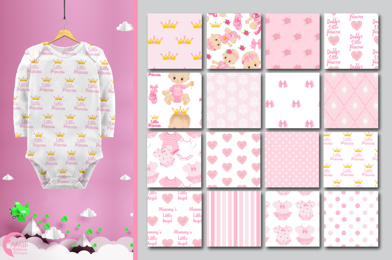 baby-princess-surface-patterns-baby-girl-papers-amb-1436
