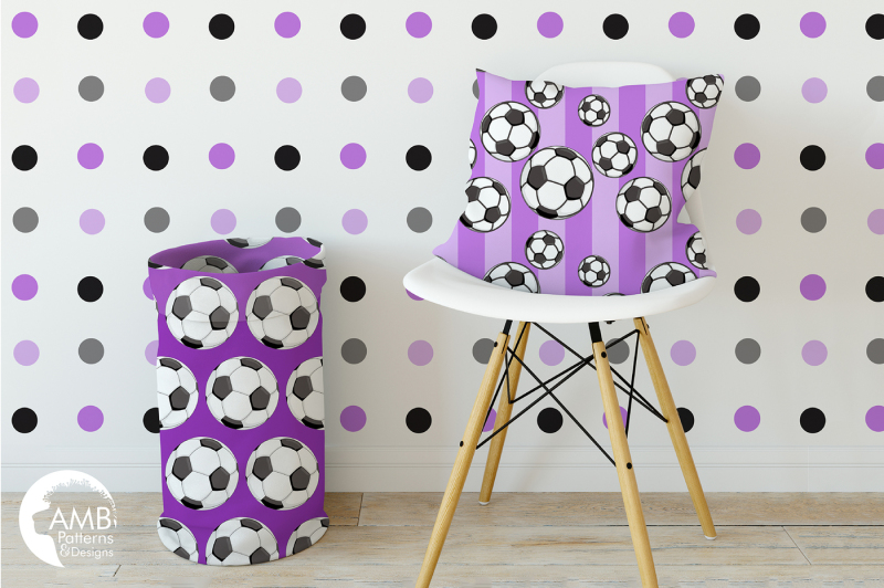 soccer-patterns-purple-soccer-papers-amb-1991