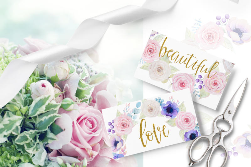 roses-and-anemones-waterolor-flowers