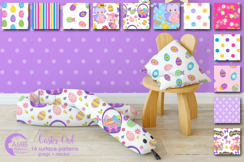easter-owl-surface-patterns-owl-papers-amb-1819