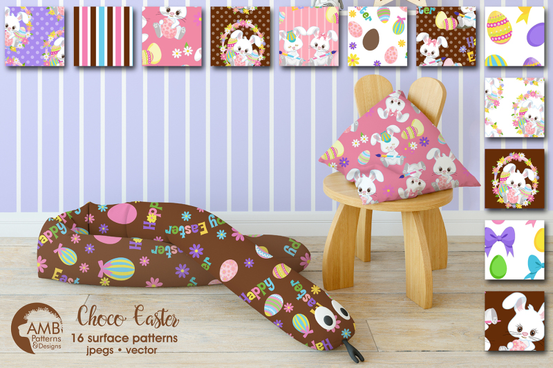 choco-easter-patterns-easter-bunny-papers-amb-1803
