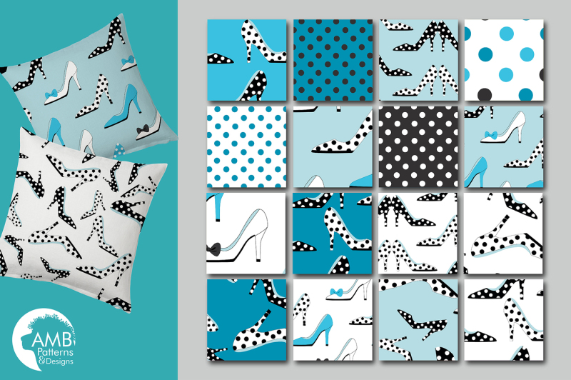 polka-dot-shoe-patterns-blue-shoes-papers-amb-2368