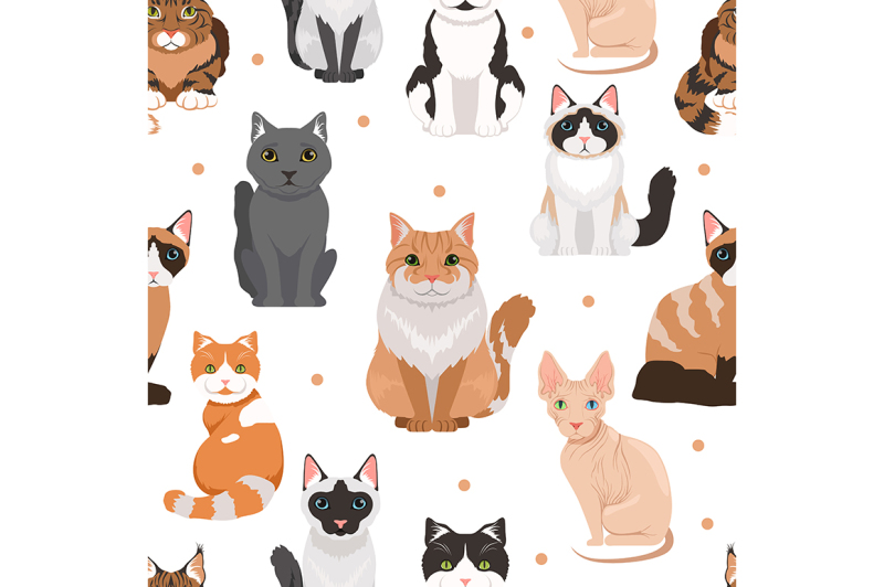 vector-seamless-pattern-of-cute-cats