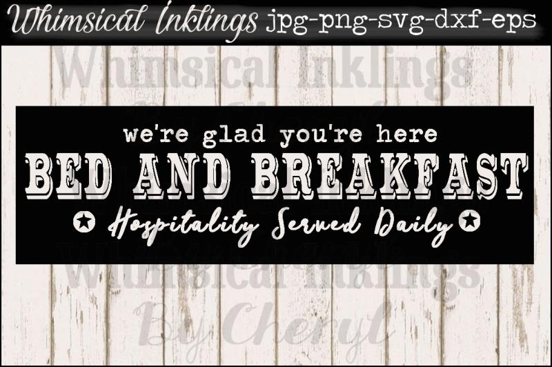 bed-and-breakfast-vintage-sign-svg-file